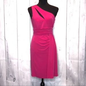 Pink Max and Cleo Dress.  D070